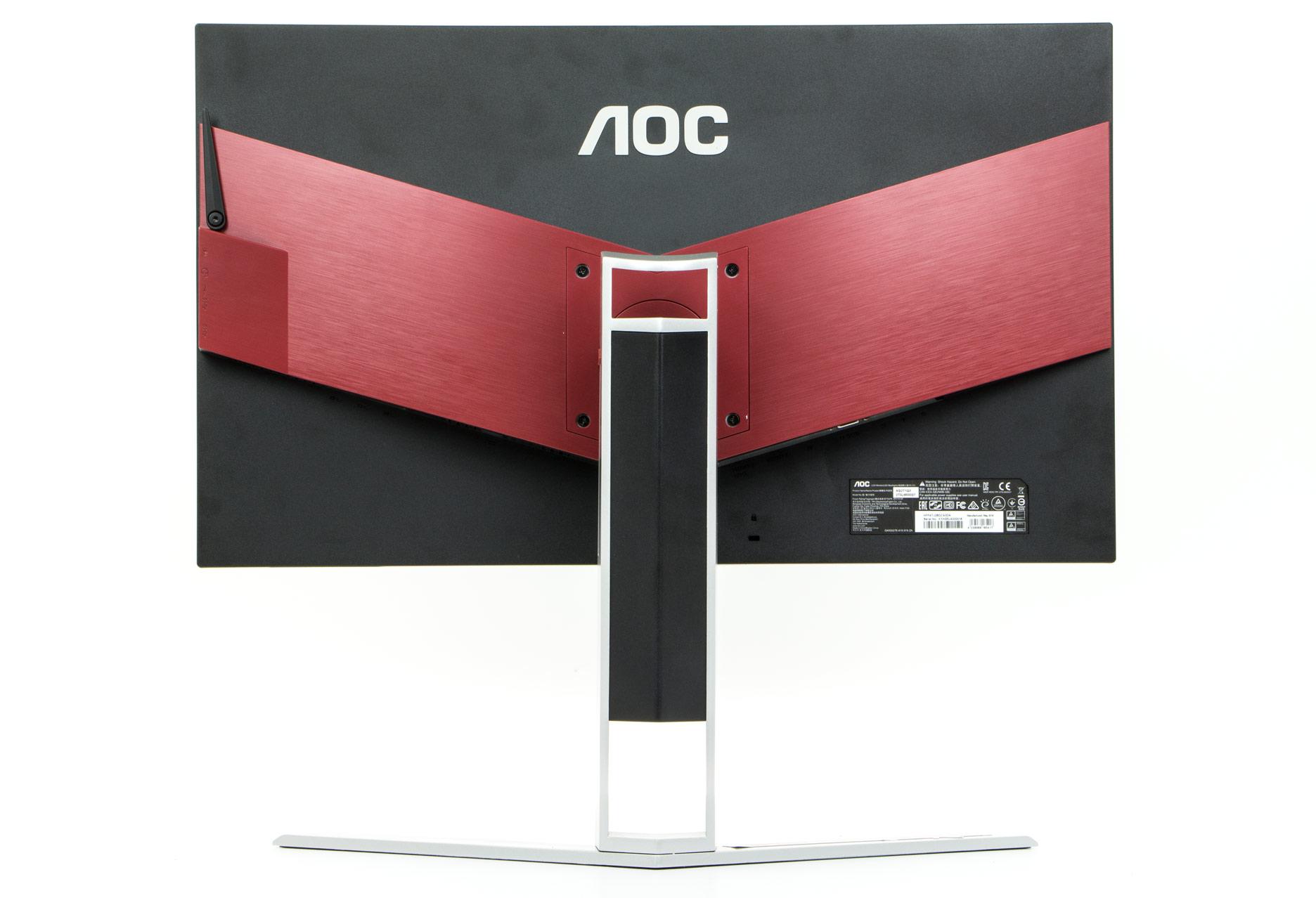 AOC AG271QX tył