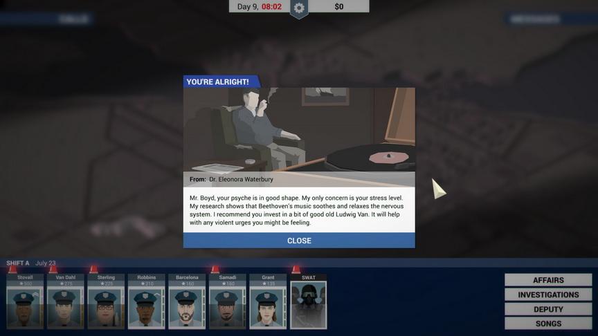 This is the Police - badanie u psychologa