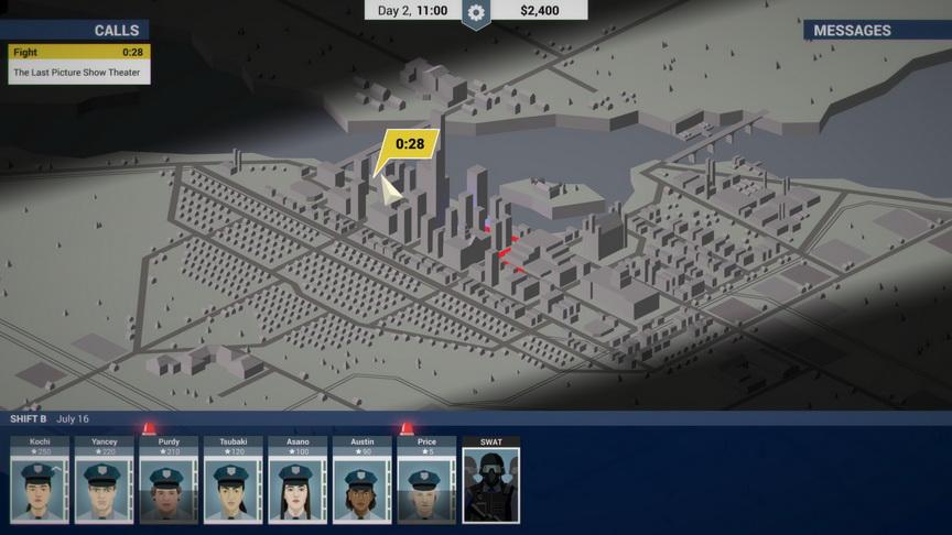 This is the Police - mapa taktyczna