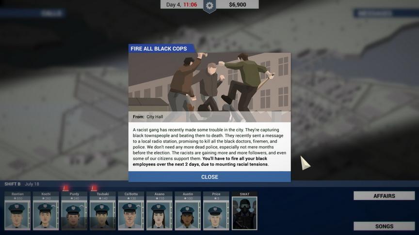 This is the Police - czy zwolnić wszystkich czarnoskórych funkcjonariuszy?