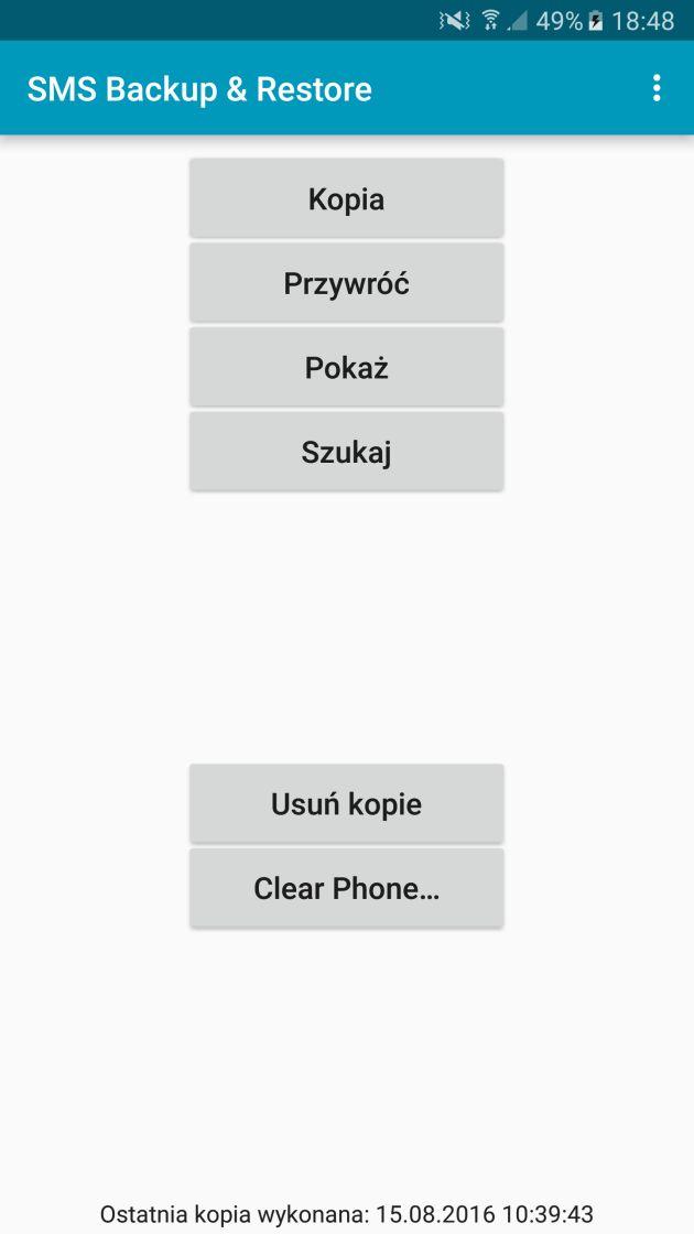 SMS Backup Restore 1