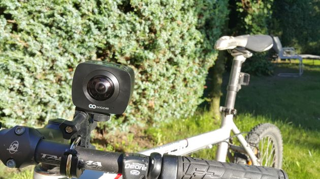 Goclever Extreme 360 na rowerze