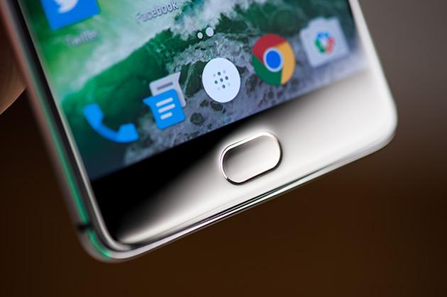 OnePlus 3 - przyciski pod ekranem