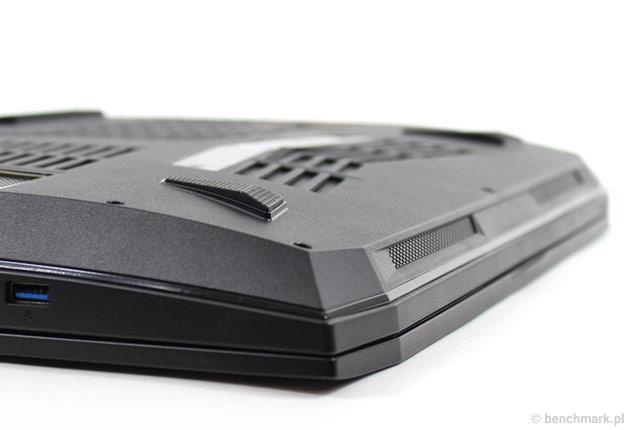 Hyperbook GTR87 VR SLI głośniki