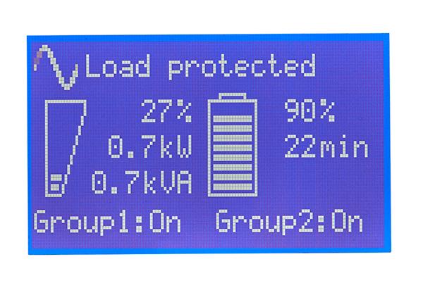 Ekran LCD w Eaton 9PX 3000