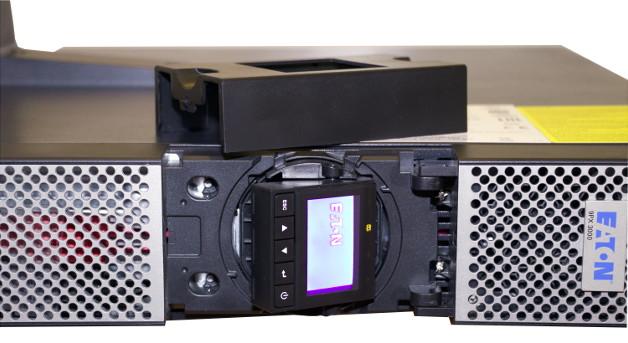 Obracany panel zarządzania w Eaton 9PX 3000