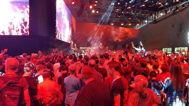 Wargaming - stoisko na Gamescom 2016
