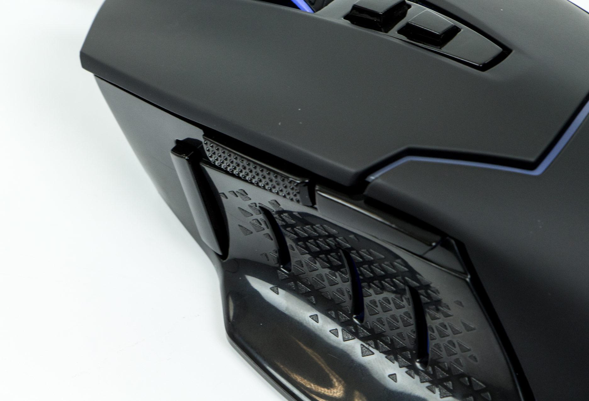 Modecom Volcano MC-GMX4 - boczne ścianki i przyciski