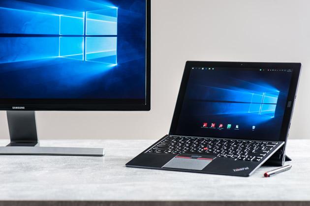 Lenovo ThinkPad X1 Tablet - bezprzewodowe przesyłanie obrazu z laptopa