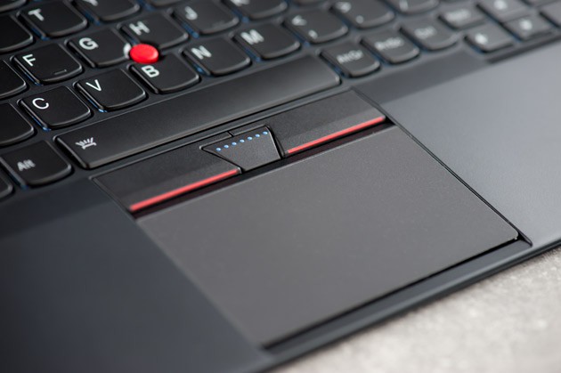 Lenovo ThinkPad X1 Tablet - touchpad and trackpoint