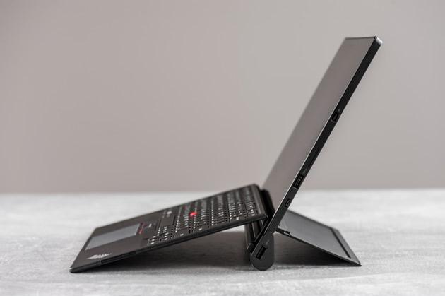 Lenovo ThinkPad X1 Tablet - pochylenie klawiatury - wysoki poziom