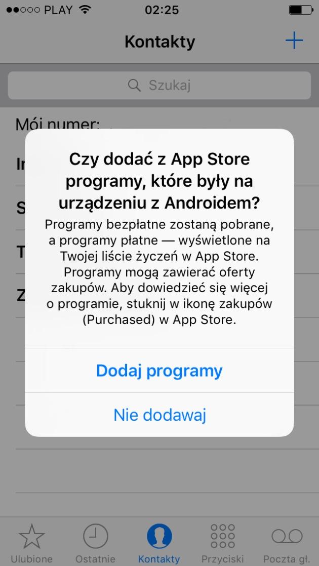 dodawanie darmowych aplikacji