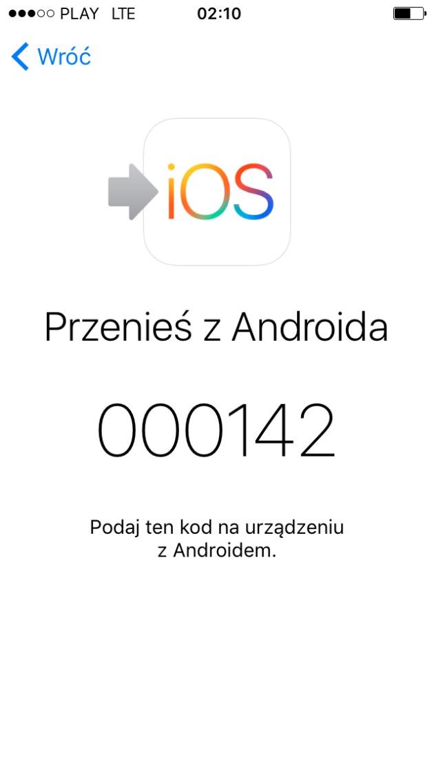 kod iPhone