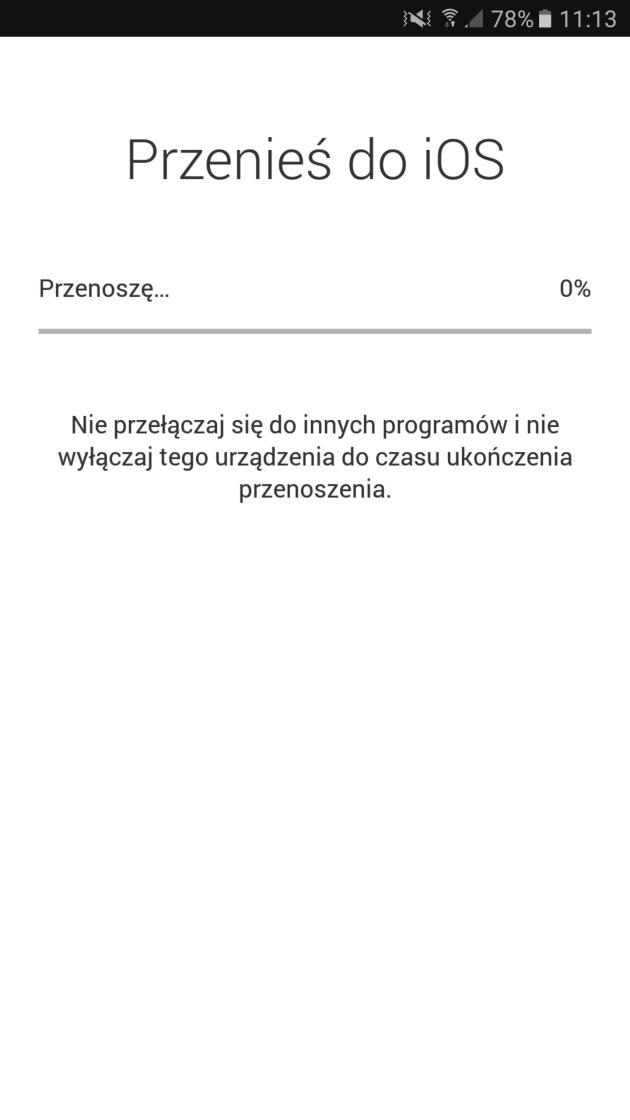 przenoszenie danych Android