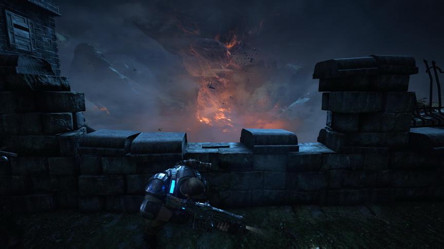 Gears of War 4 - za osłoną