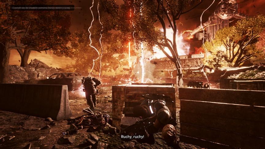 Gears of War 4 - burza elektryczna
