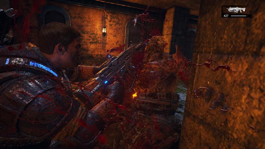 Gears of War 4 - krew leje się strumieniami
