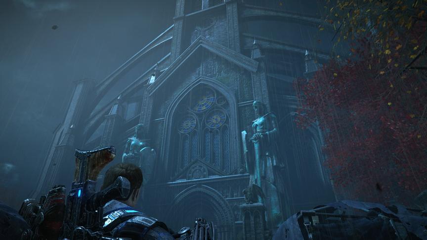 Gears of War 4 - gotyckie klimaty