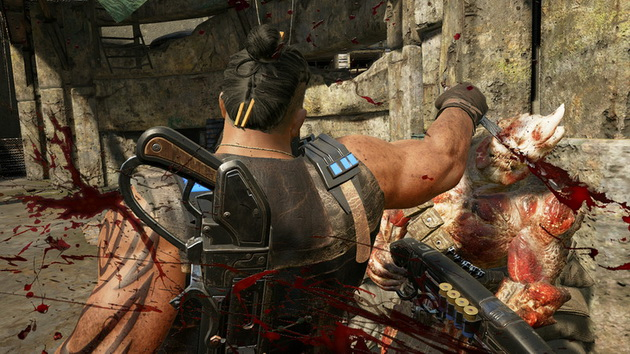 Gears of War 4 - nóż w akcji