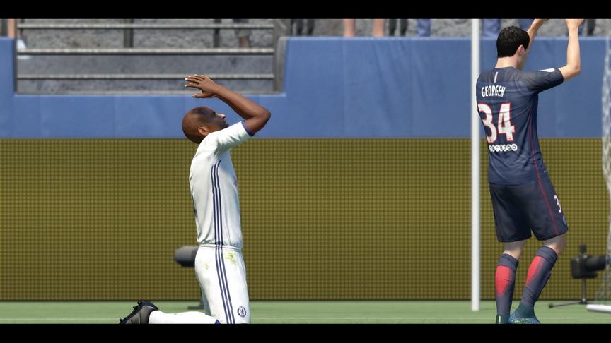 FIFA 17 - efekt nieudanej akcji