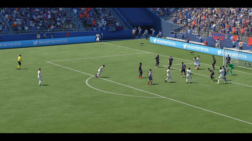 FIFA 17 - rzut rożny