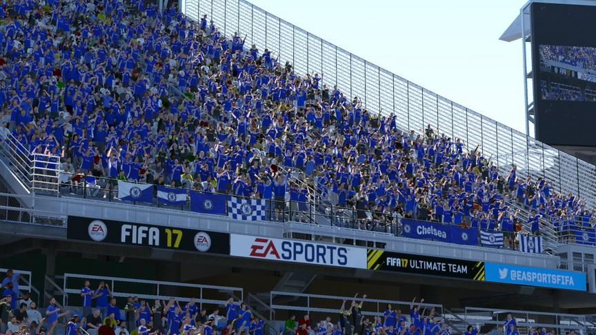 FIFA 17 - wygląd trybun
