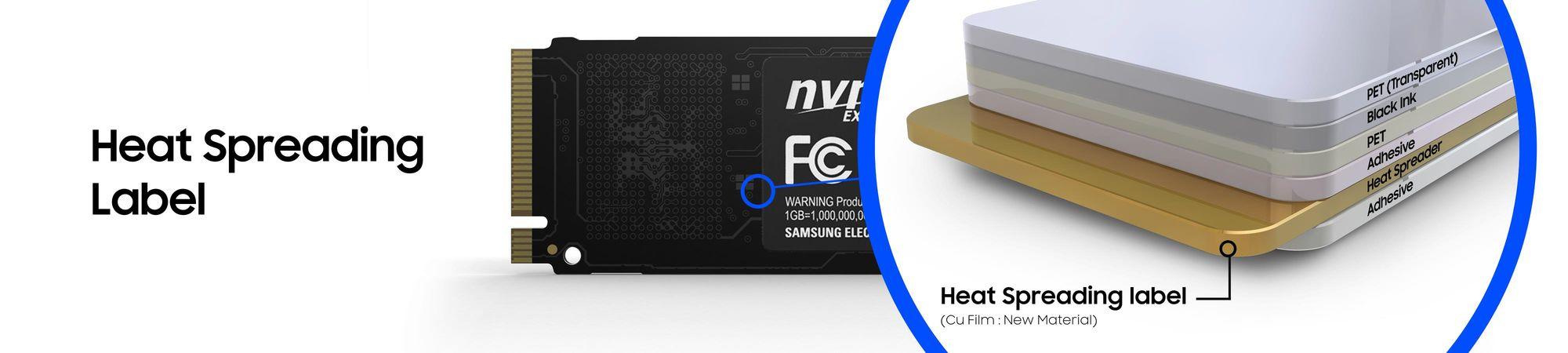 Samsung SSD 960 PRO - budowa