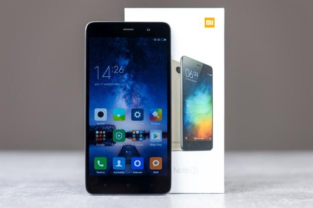 Xiaomi Redmi Note 3 z pudełkiem