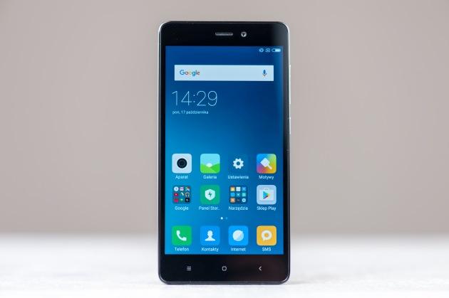 Xiaomi Redmi 3S przód