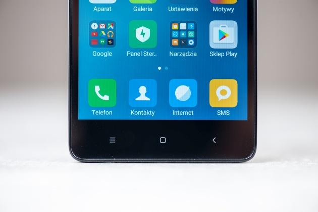 Xiaomi Redmi 3S przód przyciski
