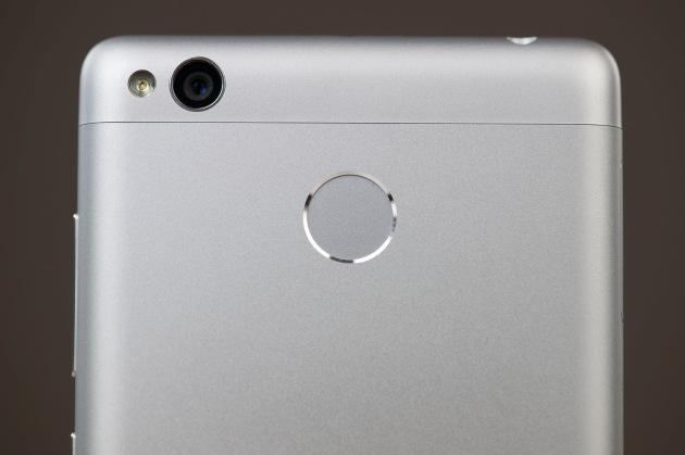 Xiaomi Redmi 3S  czytnik linii papilarnych