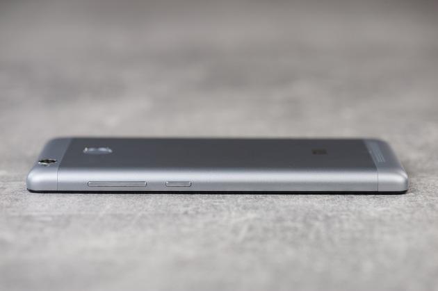 Xiaomi Redmi 3S  lewa krawędź