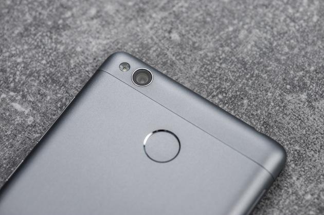 Xiaomi Redmi 3S czytnik i aparat