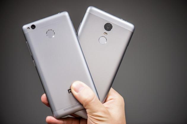 Xiaomi Redmi 3S i Redmi Note 3