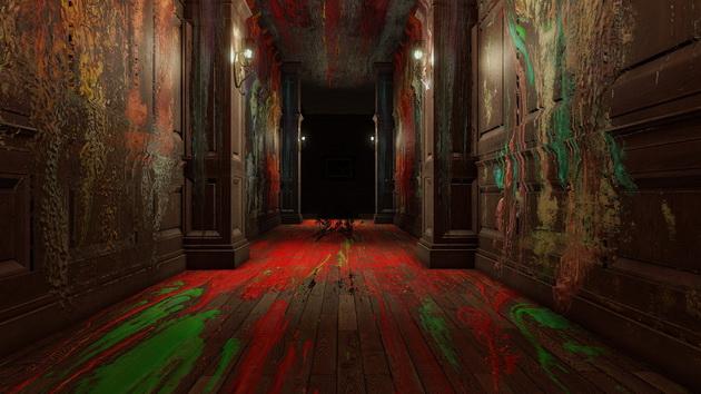 Horrory na Halloween - korytarze niczym płótno malarskie