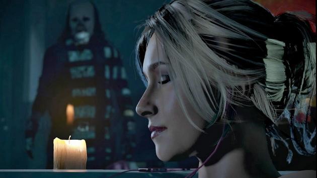 Horrory na Halloween - przerażający klaun w Until Dawn