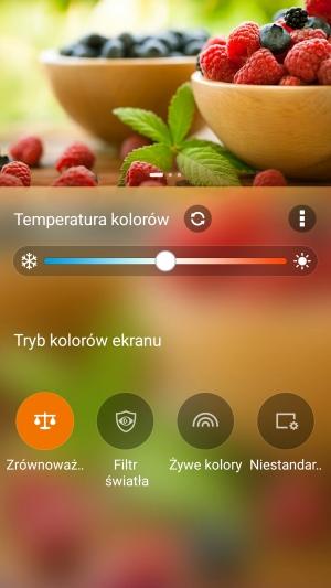 Asus Zenfone 3 wyświetlacz kolory