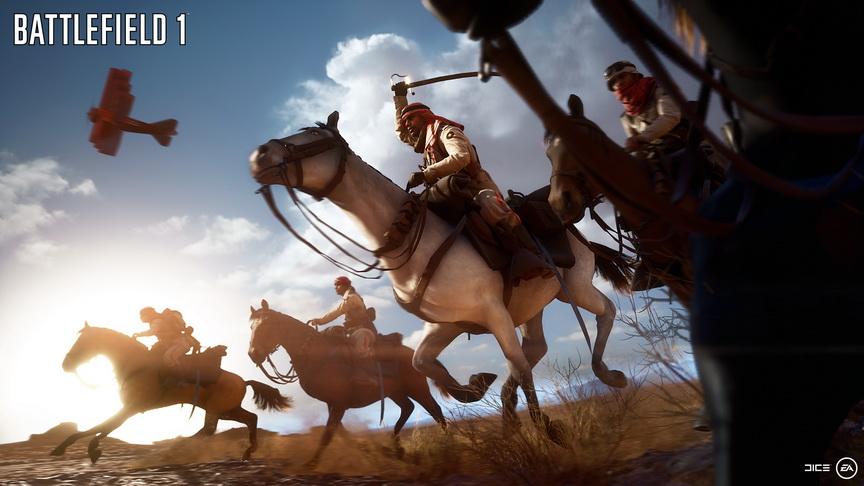 Realizm w Battlefield 1 - walki na Bliskim Wschodzie