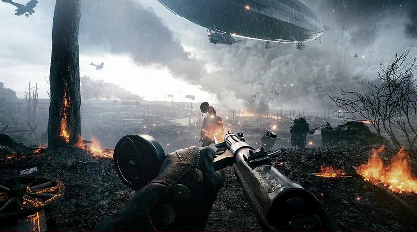 Realizm w Battlefield 1 - walka