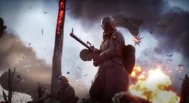 Realizm w Battlefield 1 - rkm