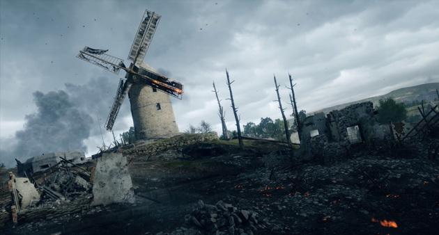 Realizm w Battlefield 1 - pole bitwy