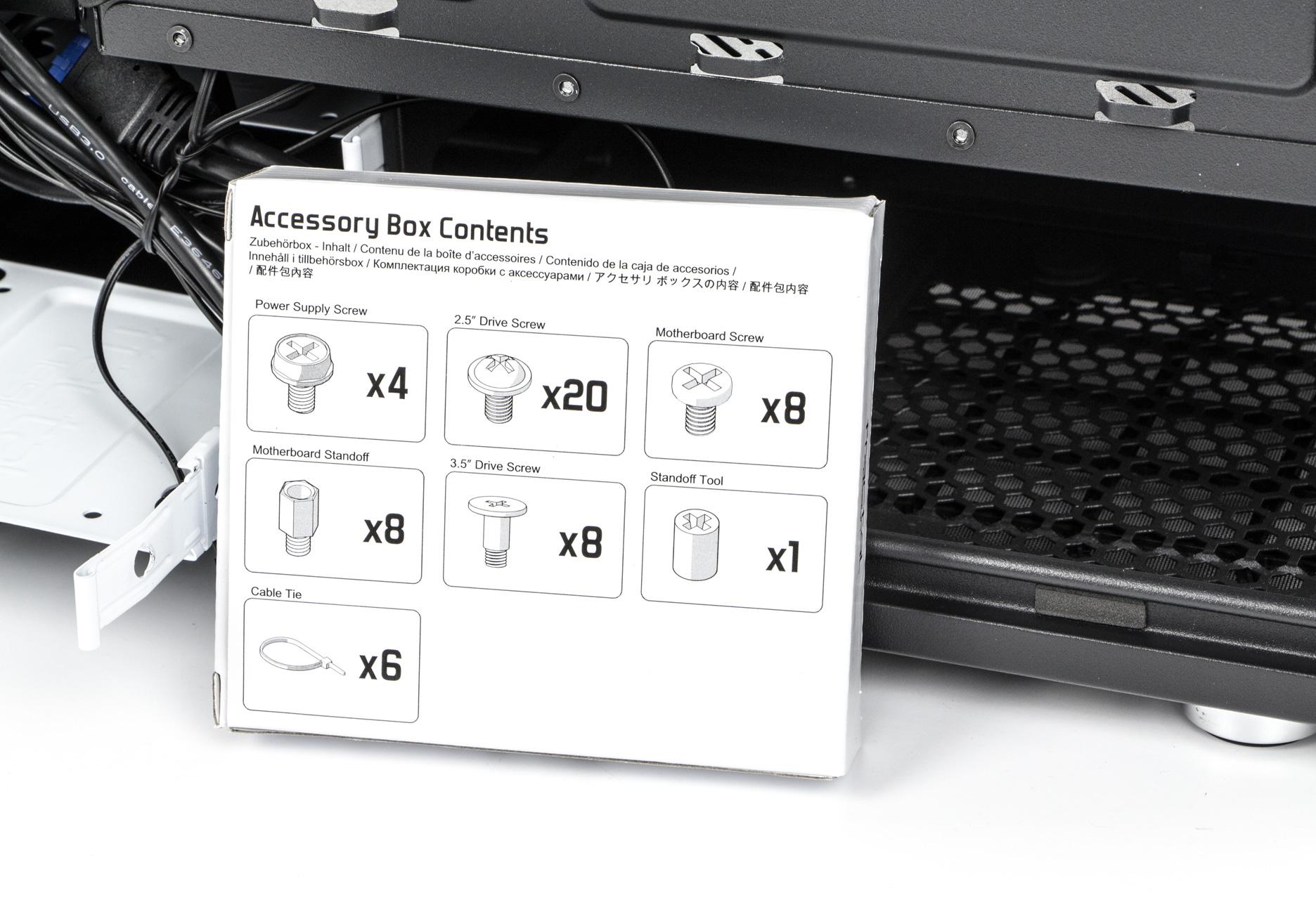 Fractal Design Define Mini C - dodatki