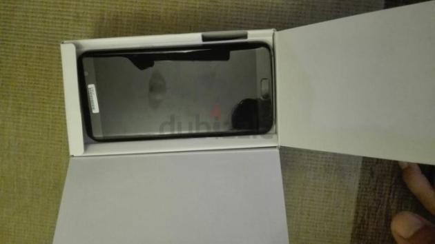 Galaxy S7 Edge front przeciek