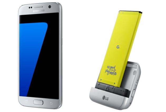 Galaxy S7 vs LG G5 moduł