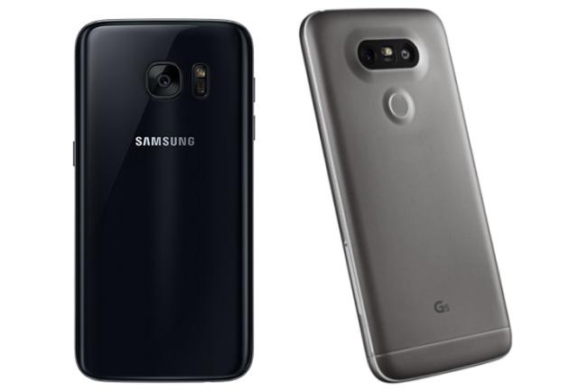 Galaxy S7 vs LG G5 obudowa