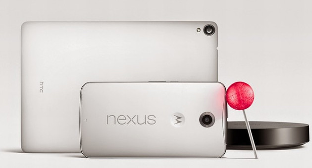 Nexus 6, Nexus 9 i Android Lollipop