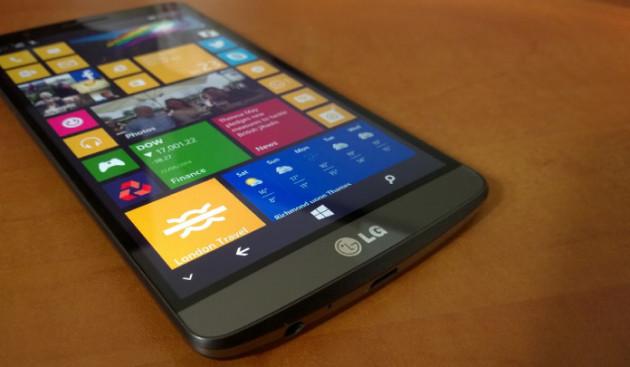 LG może pokusić się o smartfona z Windows 10