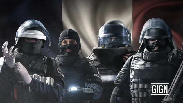 Rainbow Six Siege gra