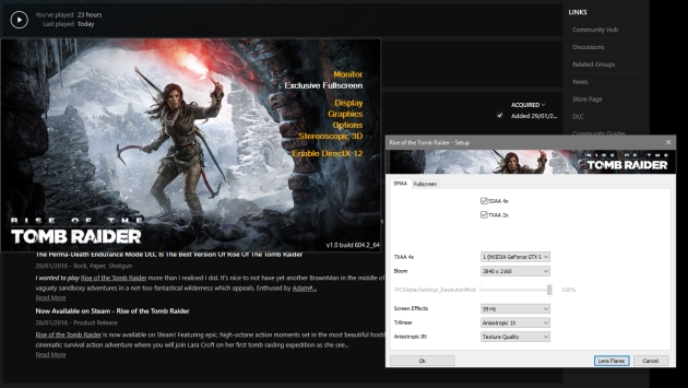 Rise of the Tomb Raider DirectX 12
