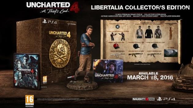 Uncharted 4: Kres Złodzieja edycja kolekcjonerka
